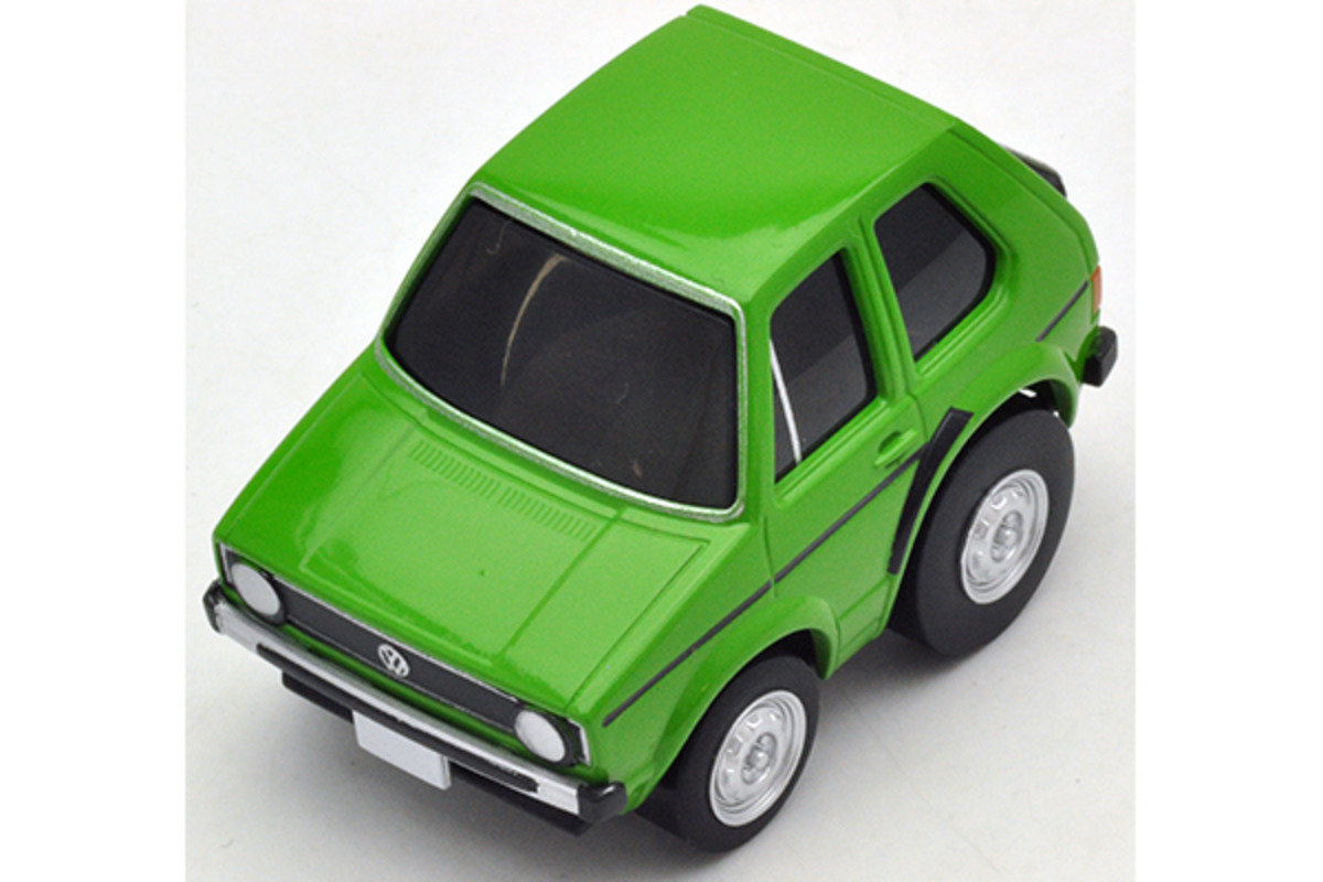 Choro-Q Zero Z-34d VW Golf I (yellowish green)