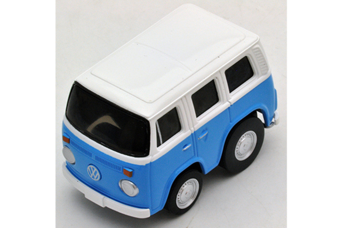 Choro-Q Zero z-35d VW Micro Bus (Light Blue)