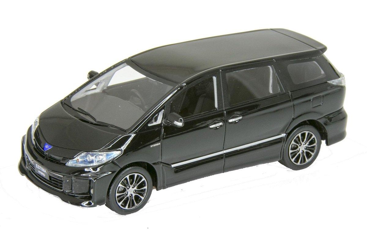 "1/43 W324 ""TOYOTA ESTIMA HYBRID AERAS 2012"" Black"