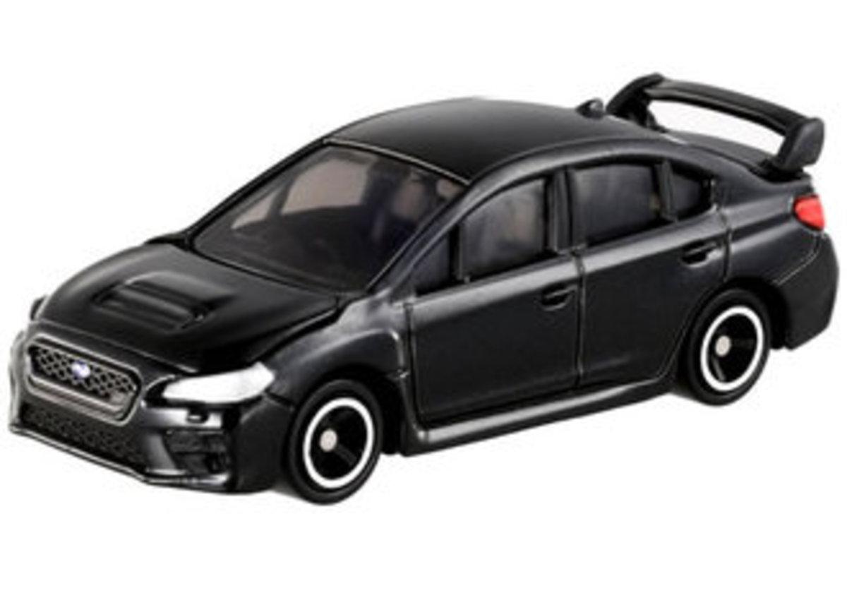 Tomy 112 Subaru WRX STI Type S Black 1/62