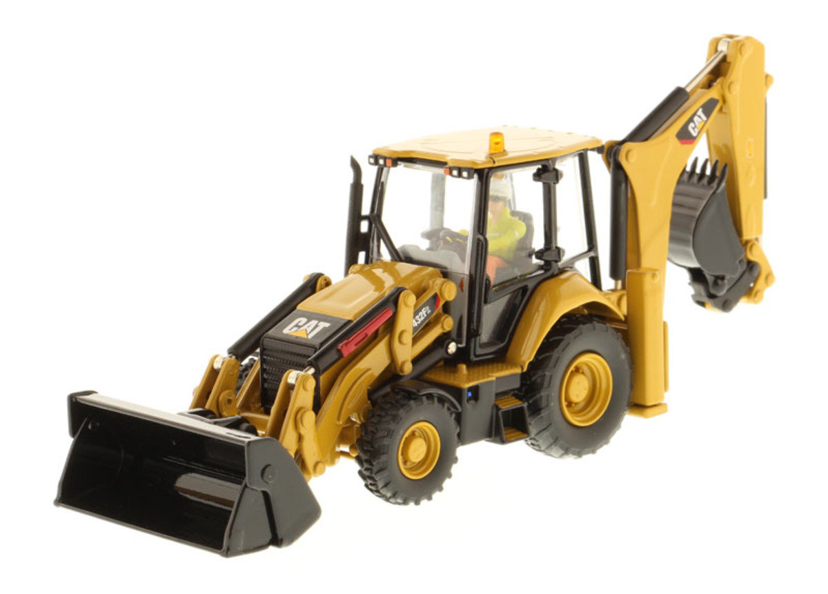 1:50 432F2 Backhoe Loader