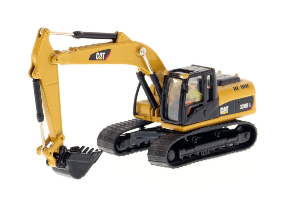 1:87 320D L Hydraulic Excavator