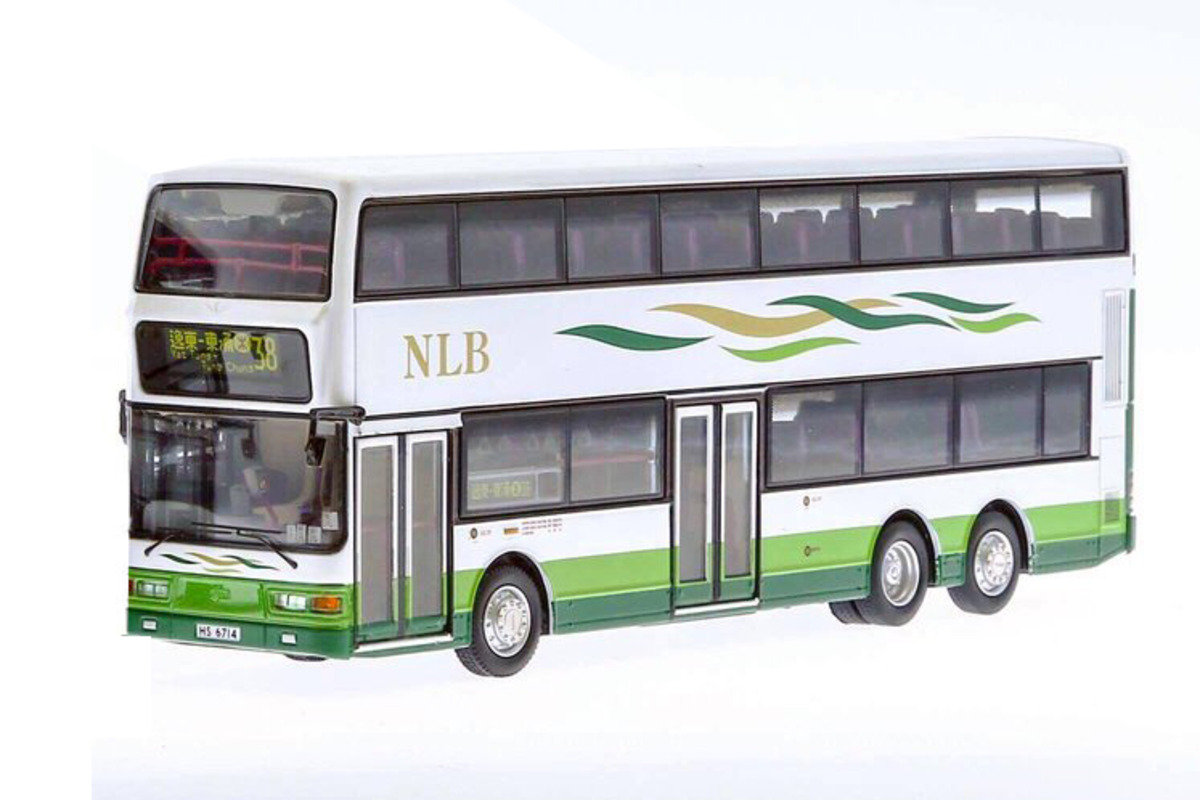 1/76 New Lantao Bus Dennis Trident rt.38