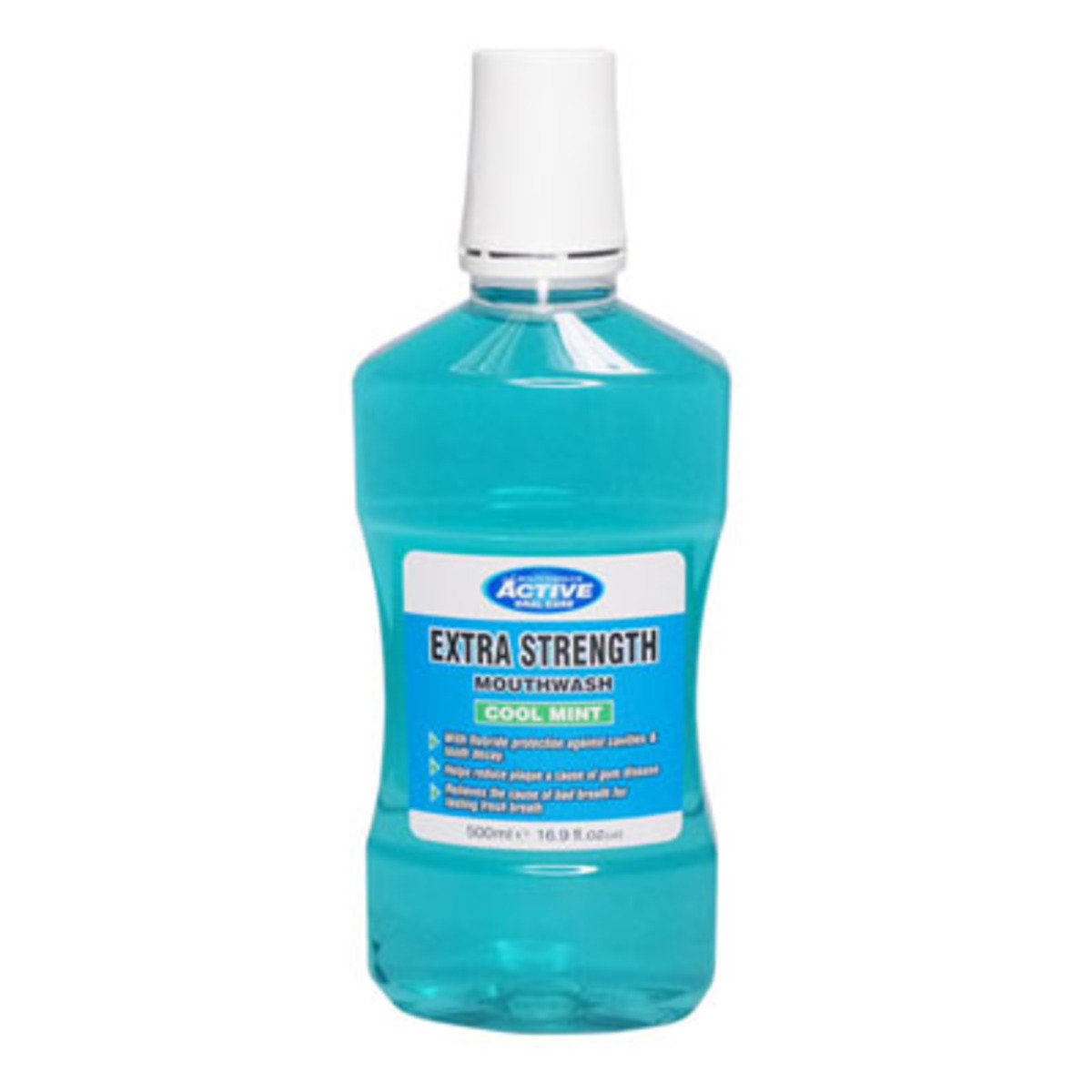 冰涼薄荷強效含氟漱口水