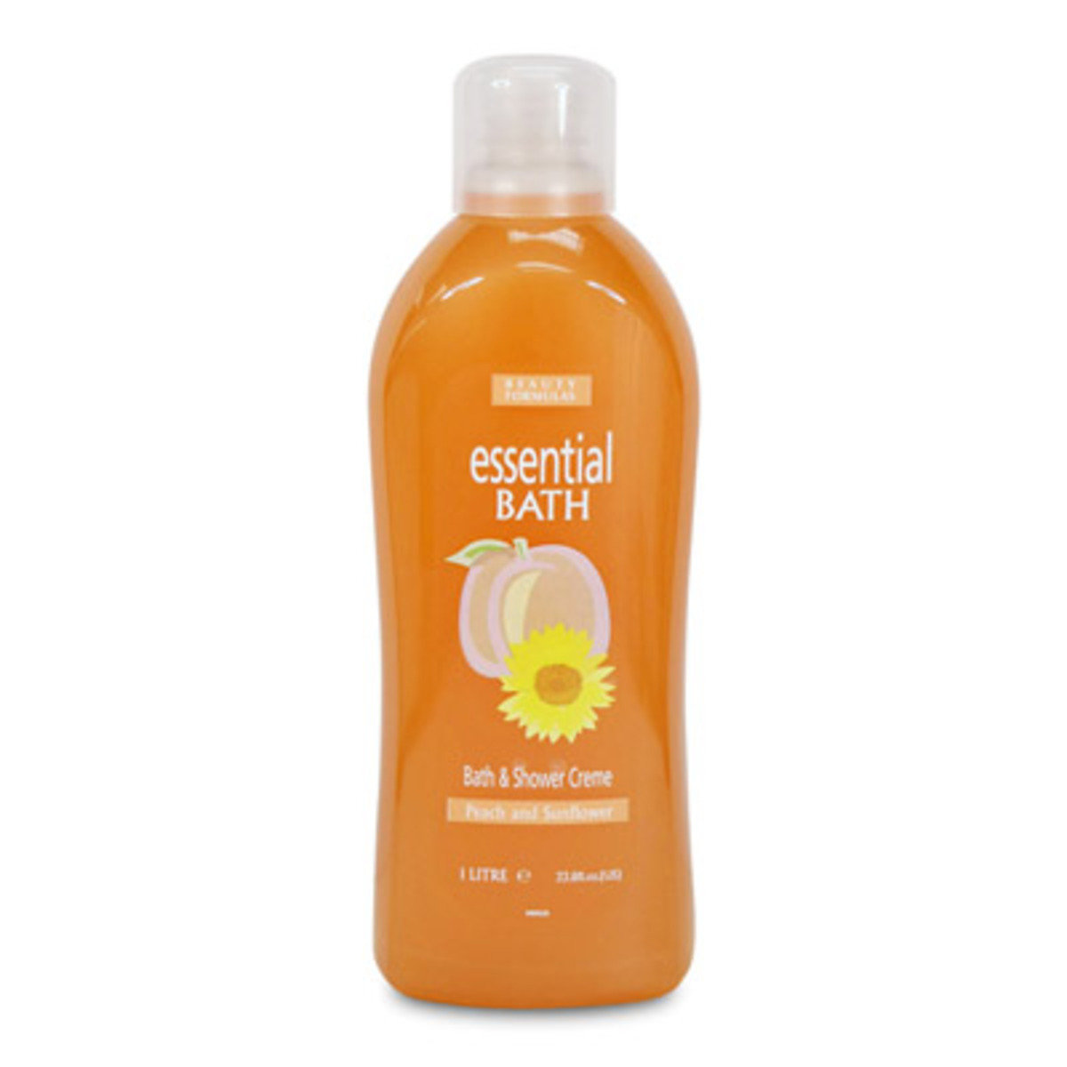 滋潤沐浴乳 - 桃和太陽花