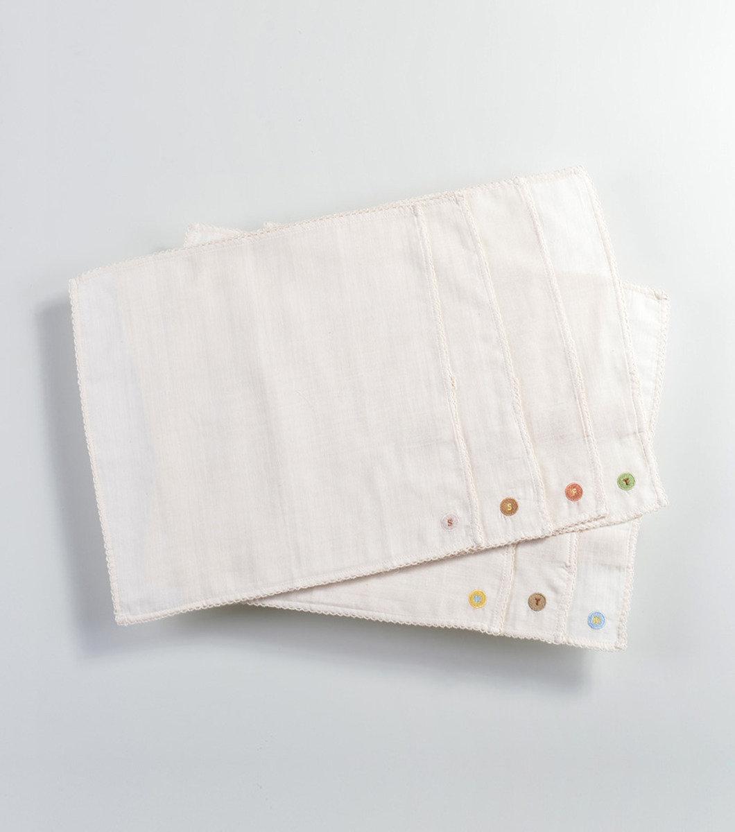 7件裝純棉紗手帕