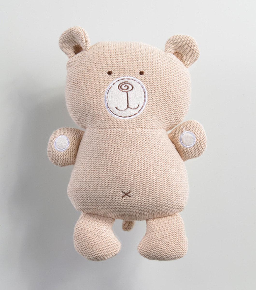 針織抱抱熊