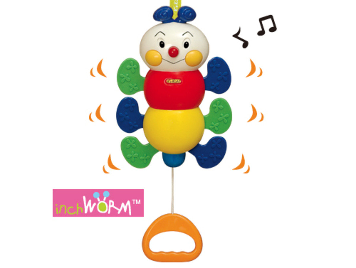 KA10505-Pull N Move Musical Pals - Inchworm