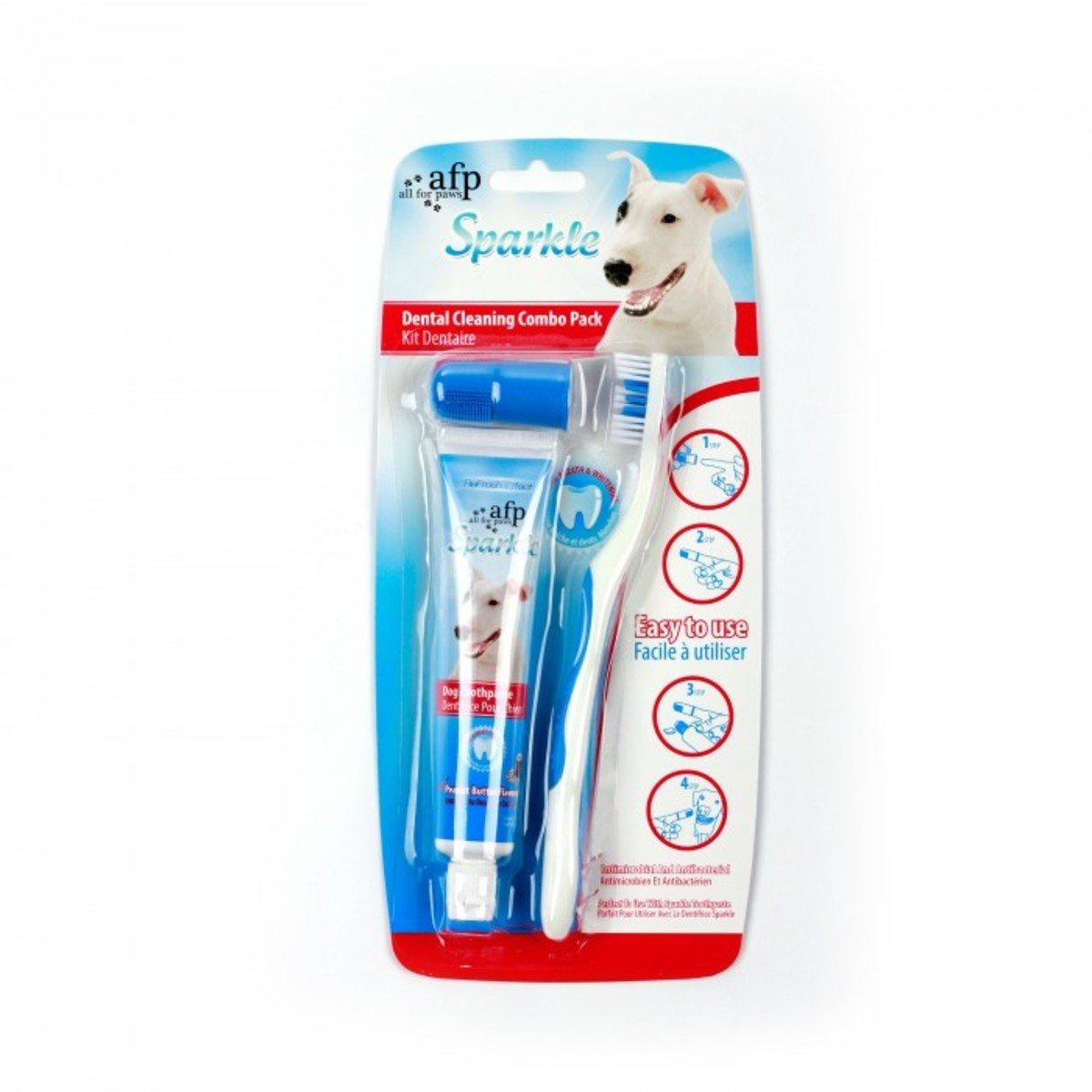 牙刷牙膏套裝 - 花生味