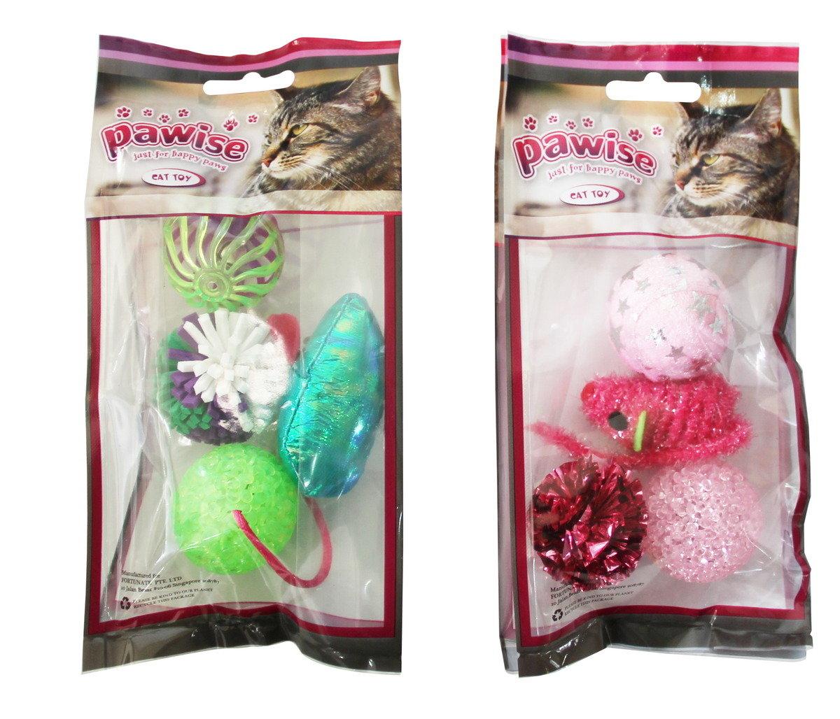 PAWISE 追逐球貓玩具