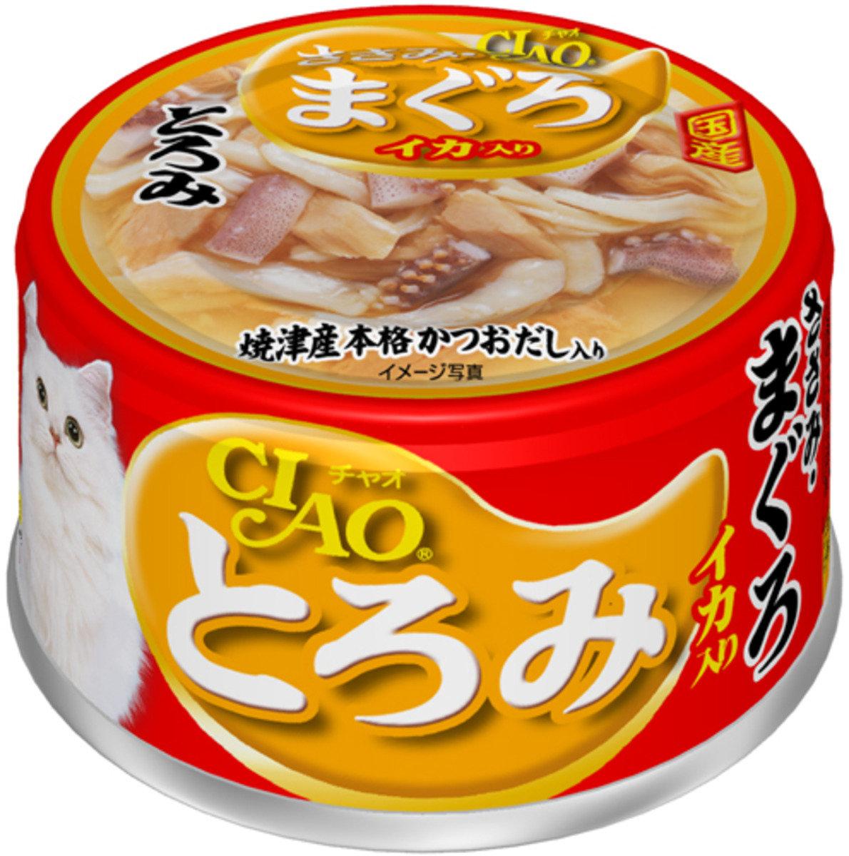 濃湯 雞肉 吞拿魚+魷魚