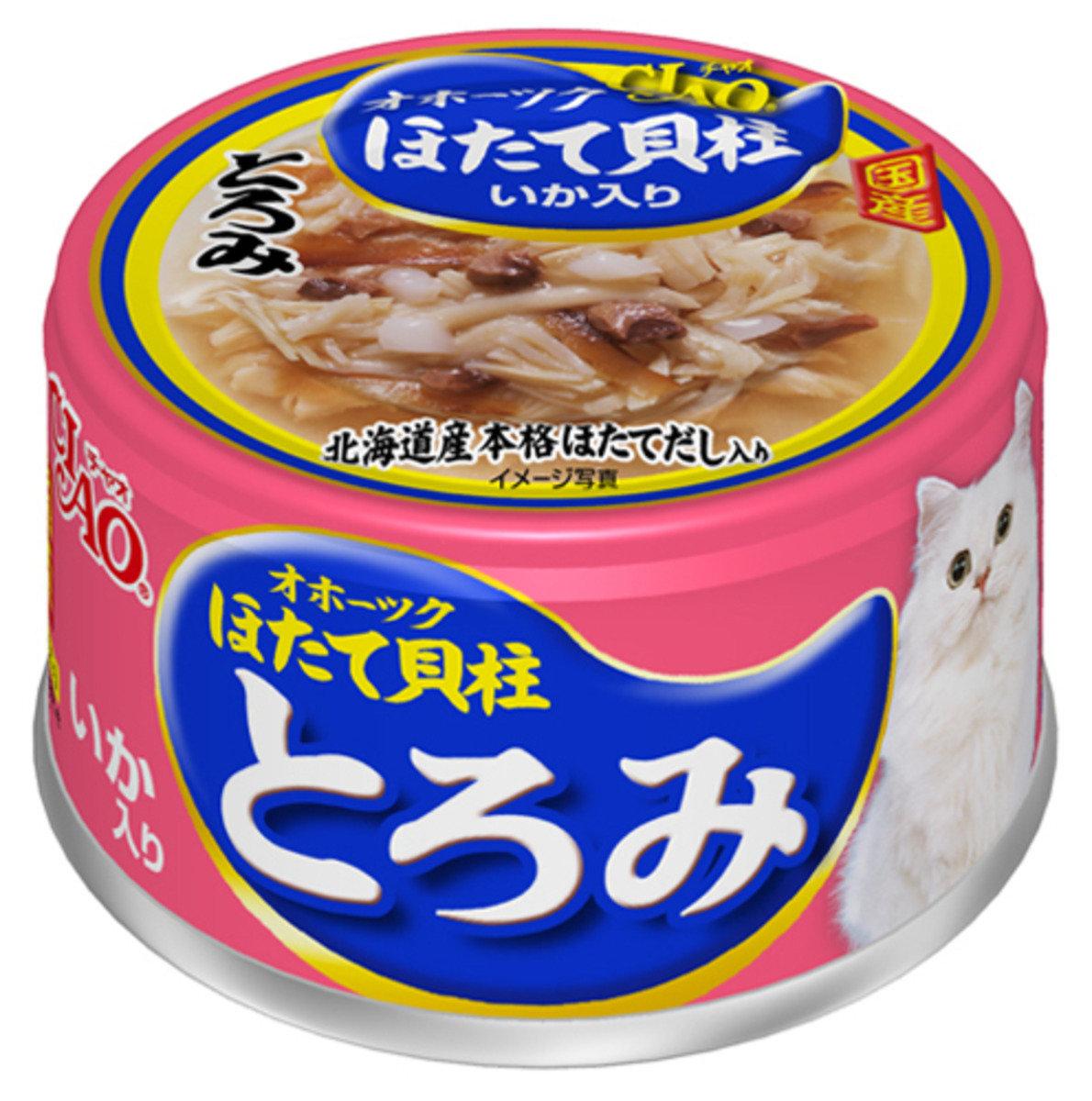 鄂霍次克海帶子濃湯+魷魚