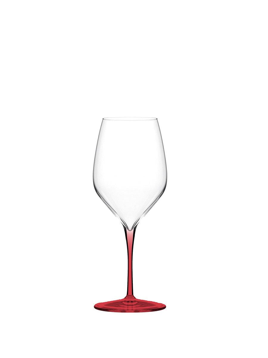 Vertical Medium Colorpro 炫彩系列酒杯, 紅色
