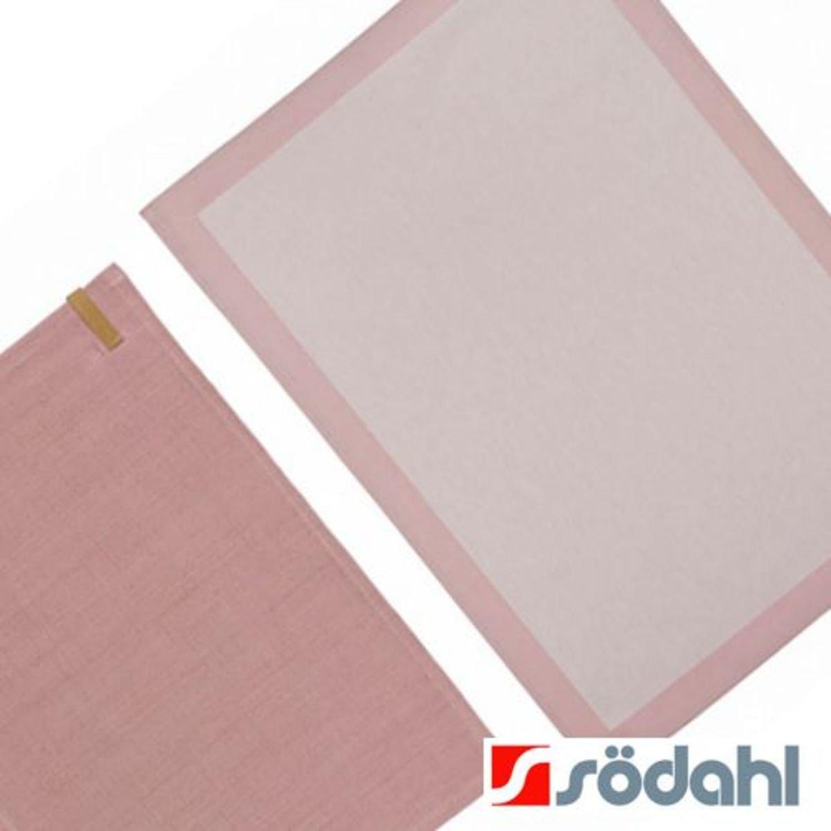 """餐桌套裝""""Casual""""簡約餐墊+Frame系列餐巾, 淺粉"""