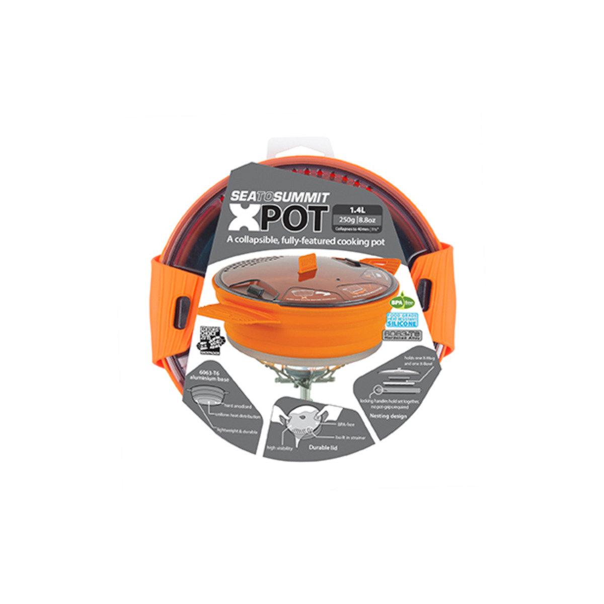 X-Pot 1.4L-Orange-AXPOT1.4OR