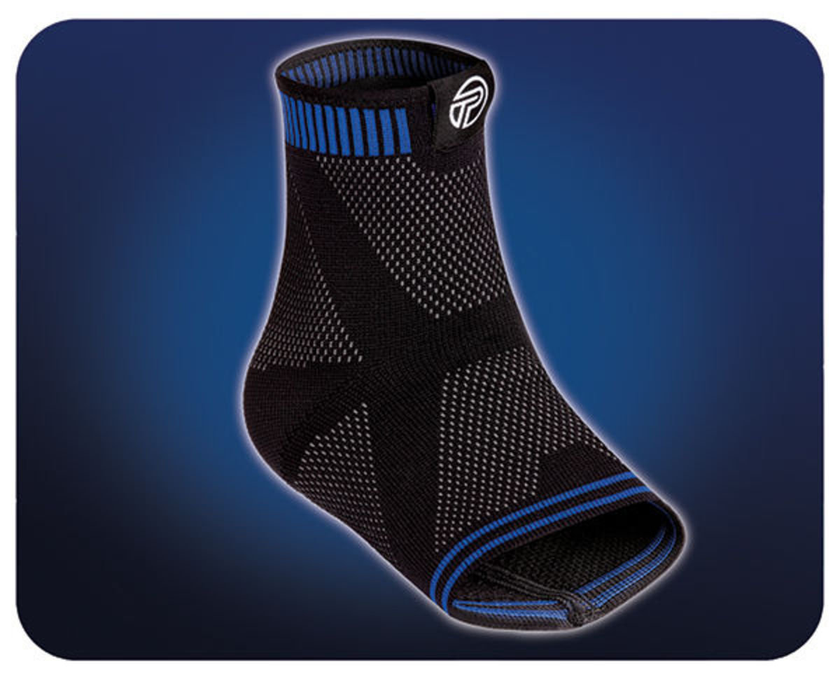3D Ankle Sleeve-Medium-2401F-M