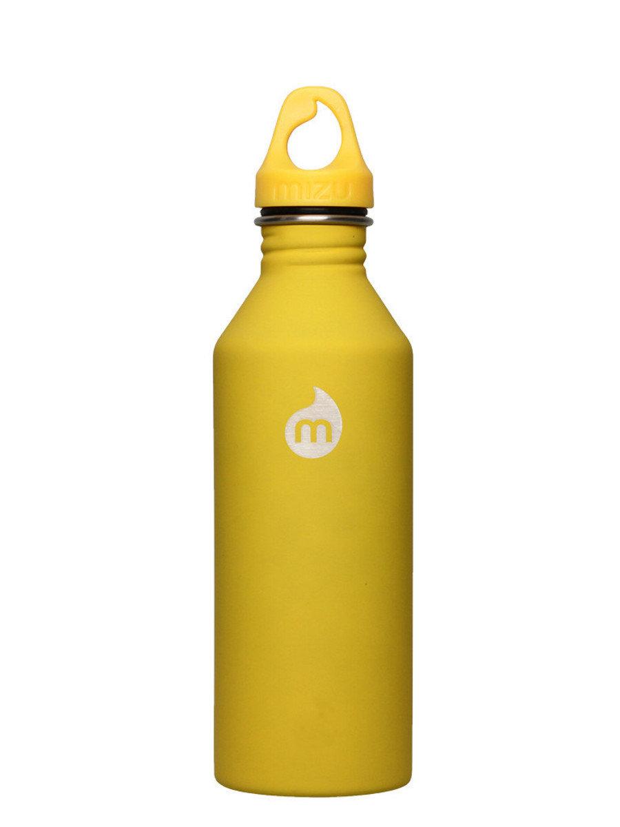 M8-ST Yel w/Yel Loop Cap 不銹鋼水樽