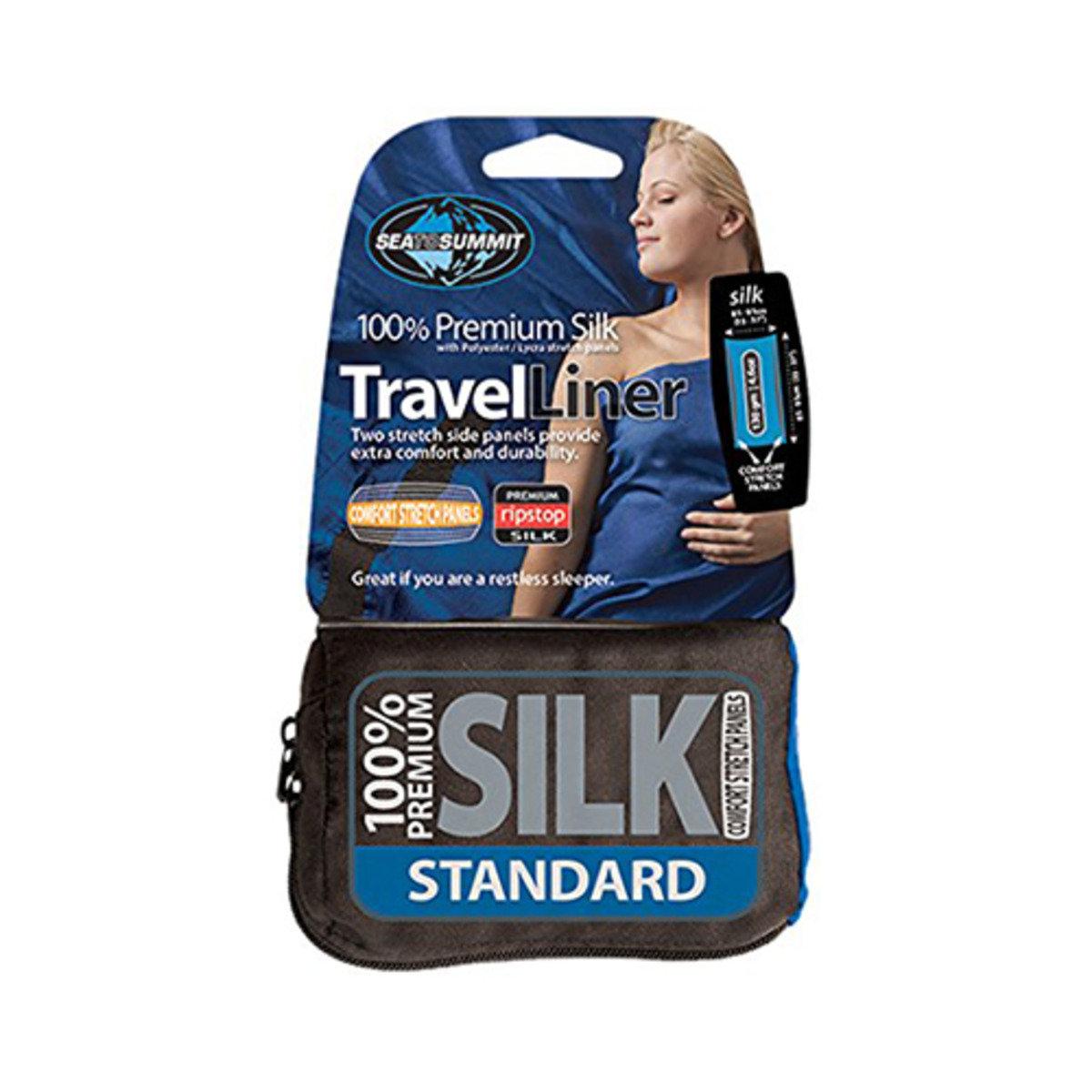 Silk Liner Stretch Std-Navy-ASILKCSSTDNB