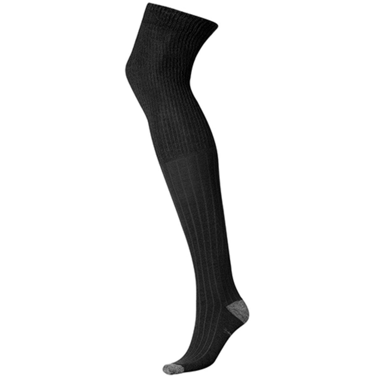 Basic Thigh High-Black-SW550