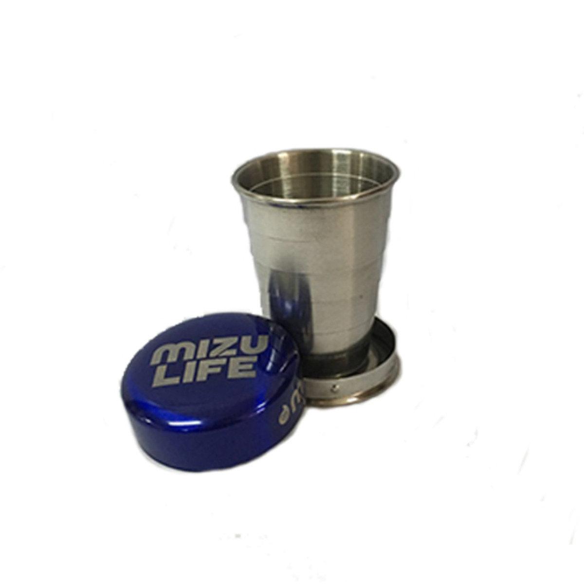 Shot Glass-Mizu Life Blue 不銹鋼伸縮杯