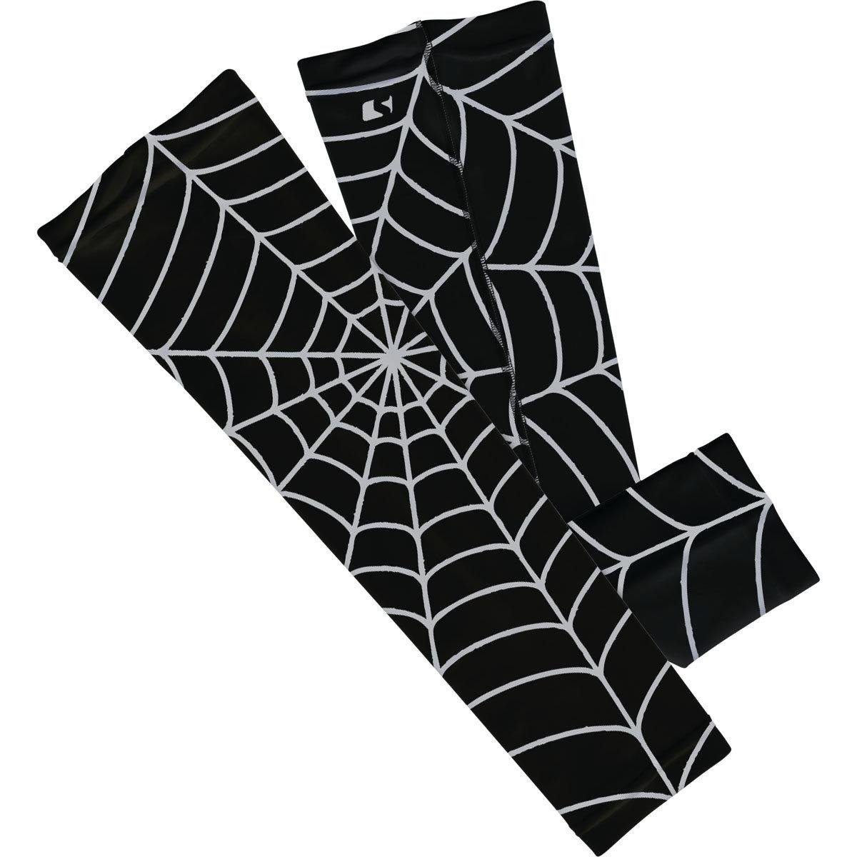 Black Spiderweb - 人體工學設計防曬手袖