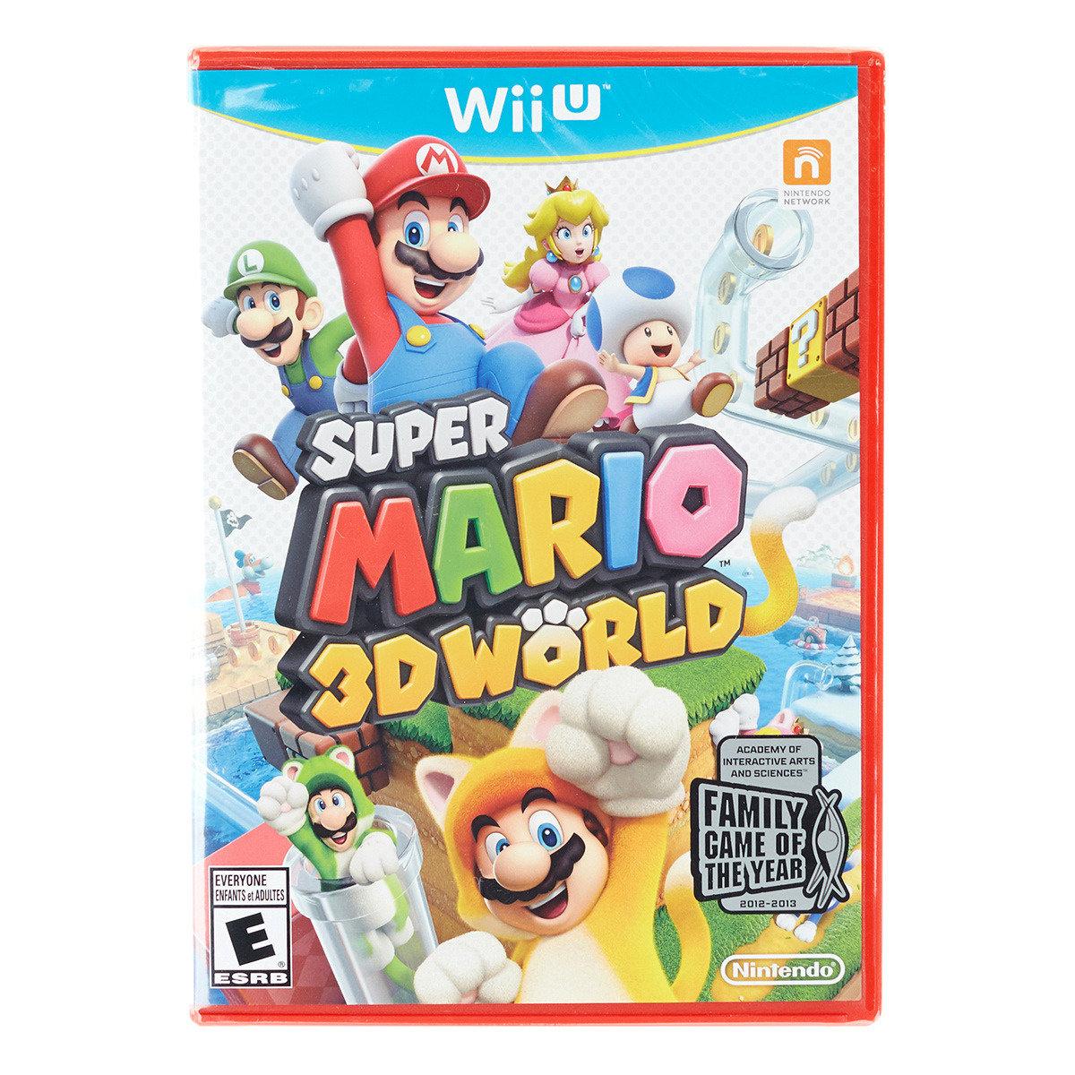 超級瑪利歐 3D 世界 (美版)