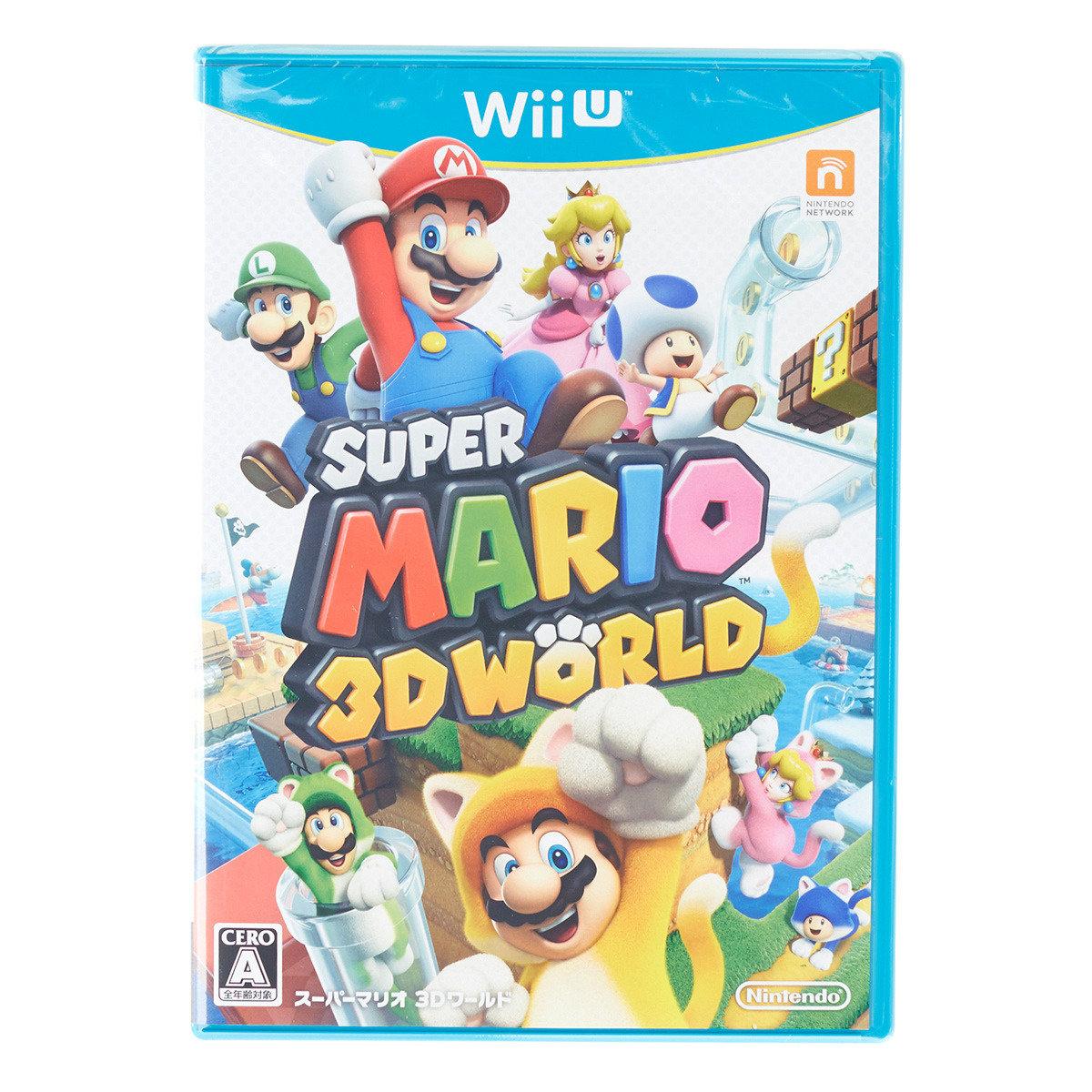 超級瑪利歐 3D 世界 (日版)