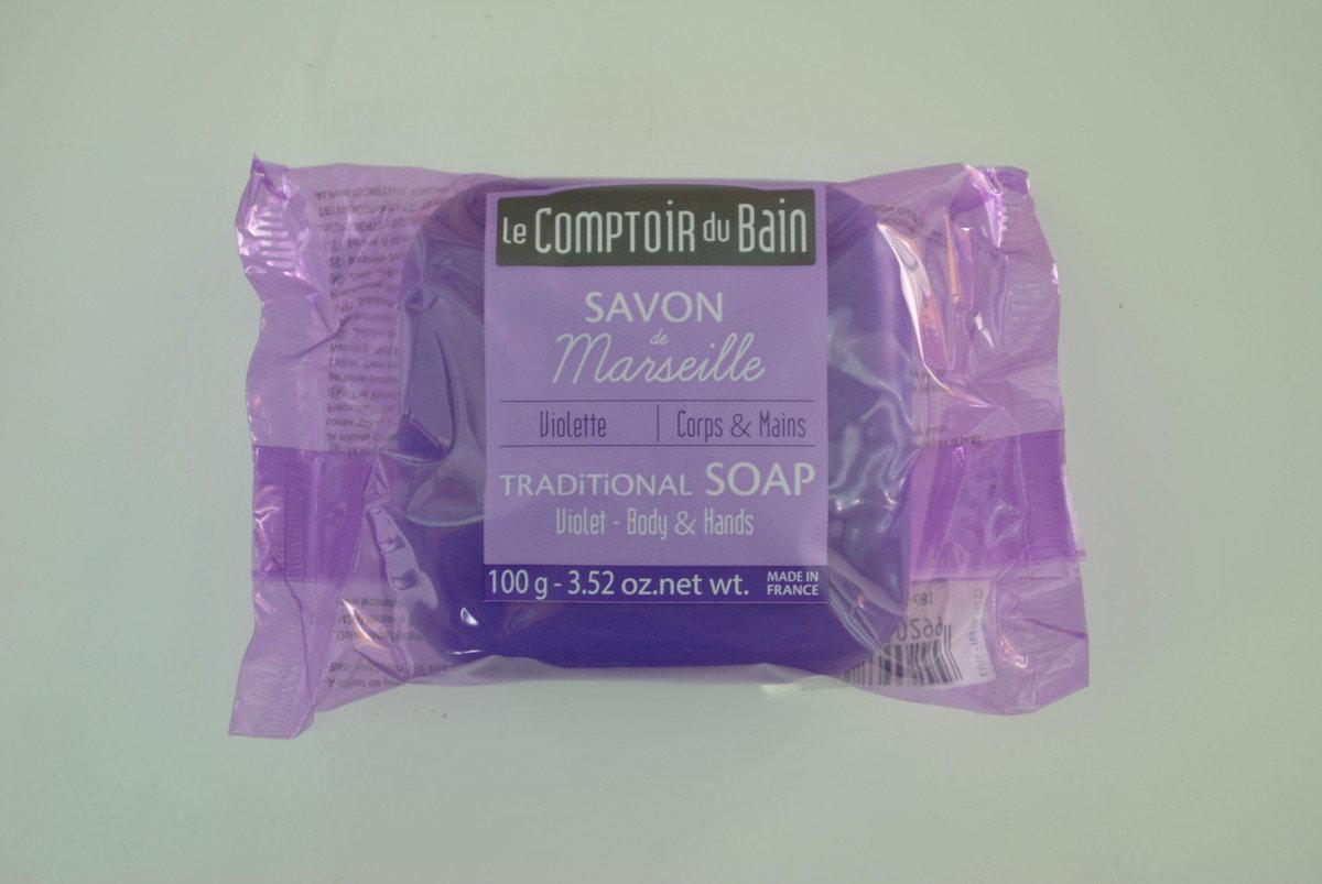 法國天然馬賽肥皂 - 紫蘿蘭