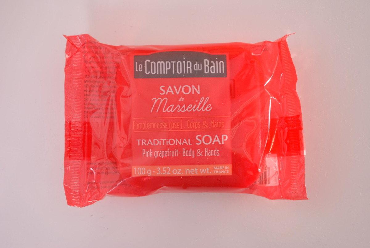 法國天然馬賽肥皂 - 西柚
