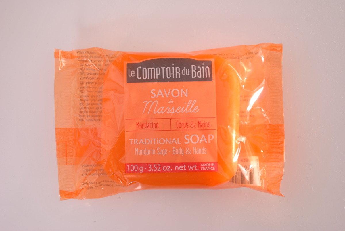 法國天然馬賽肥皂 - 柑橘鼠尾草