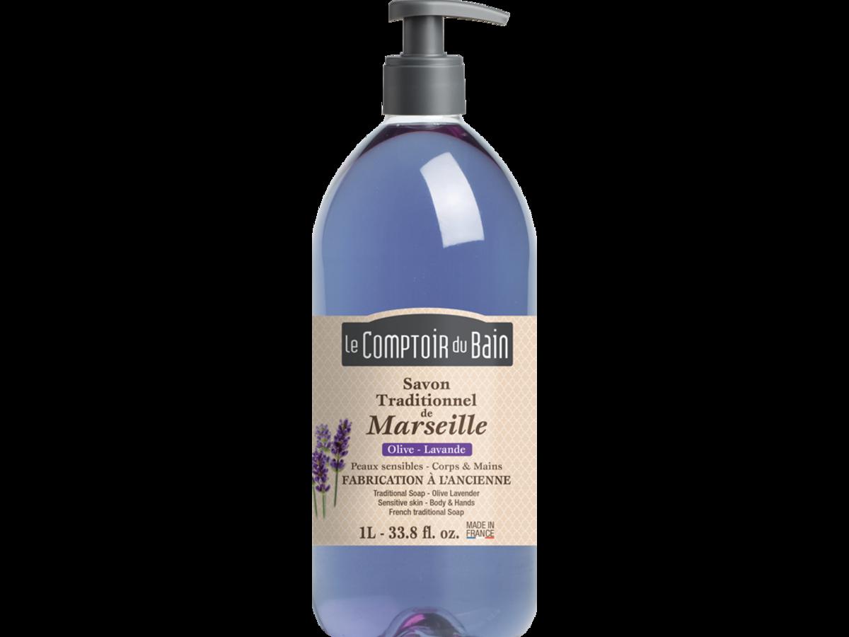 法國天然馬賽皂液 - 薰衣草  1000毫升
