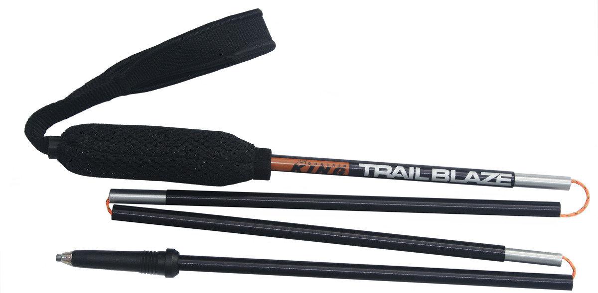 英國製超輕鋁合金跑山杖 Trail Blaze 115 cm black (pair)