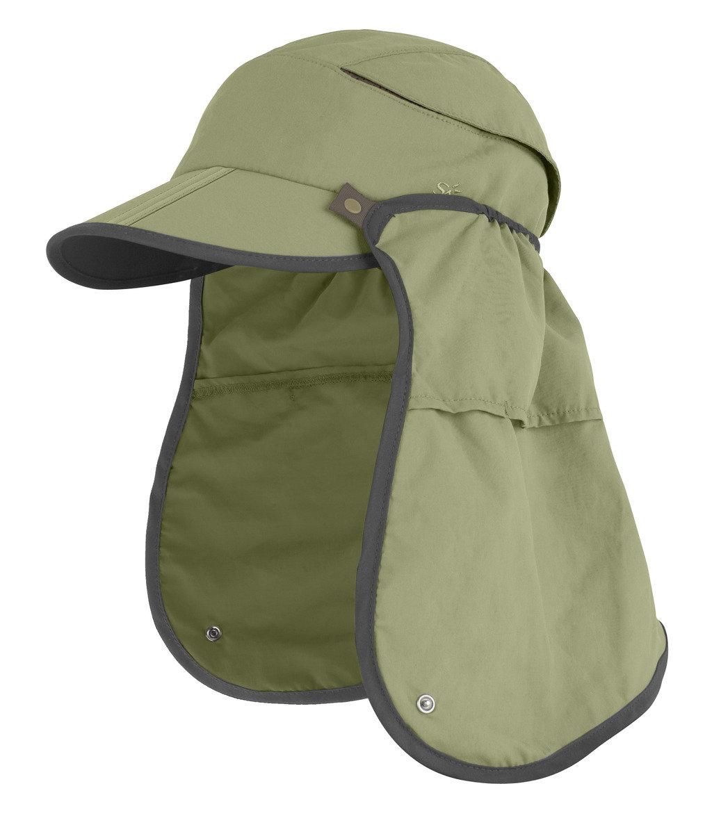 美國永久最高防曬帽 - Sun Guide Cap, Olive M