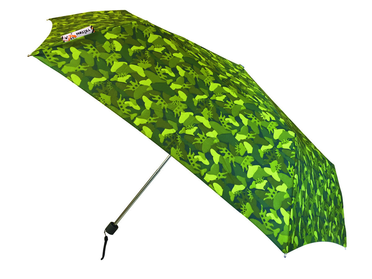 超輕纖巧縮骨遮 - Slim Umbrella, green camo