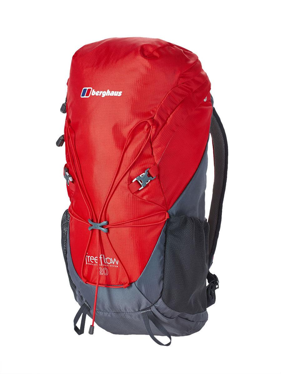 英國戶外/日用背囊 - Freeflow II 20 Rucsac, Extrem Red/Carbon