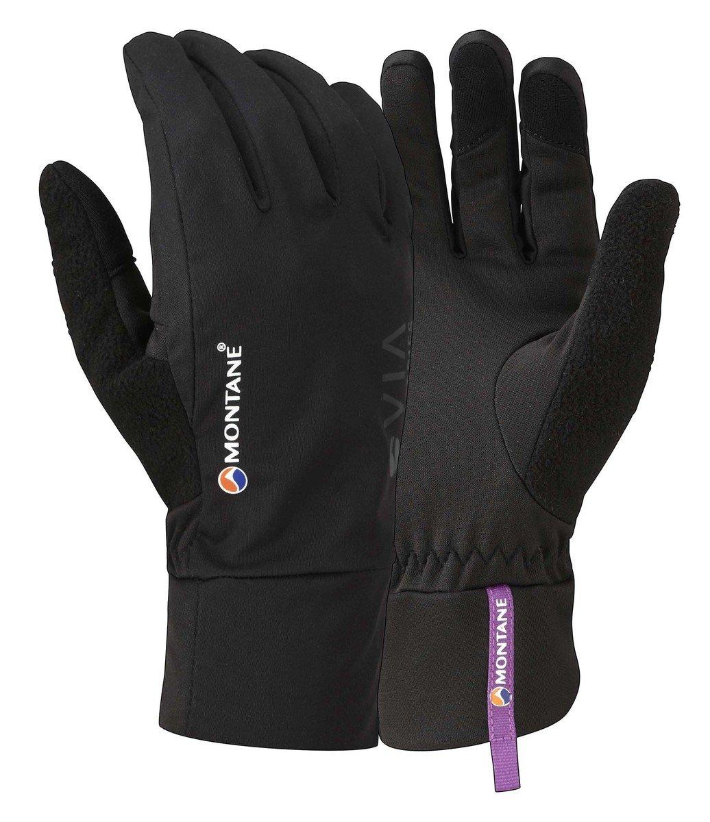 英國女裝跑山抗風抗雨手套VIA TRAIL GLOVE-黑色