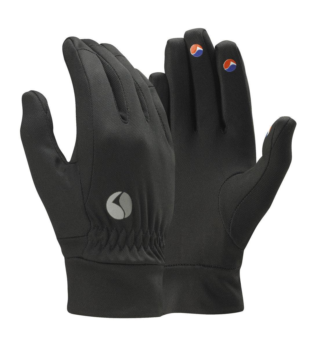 英國保暖排汗手套POWERDRY GLOVE-黑色