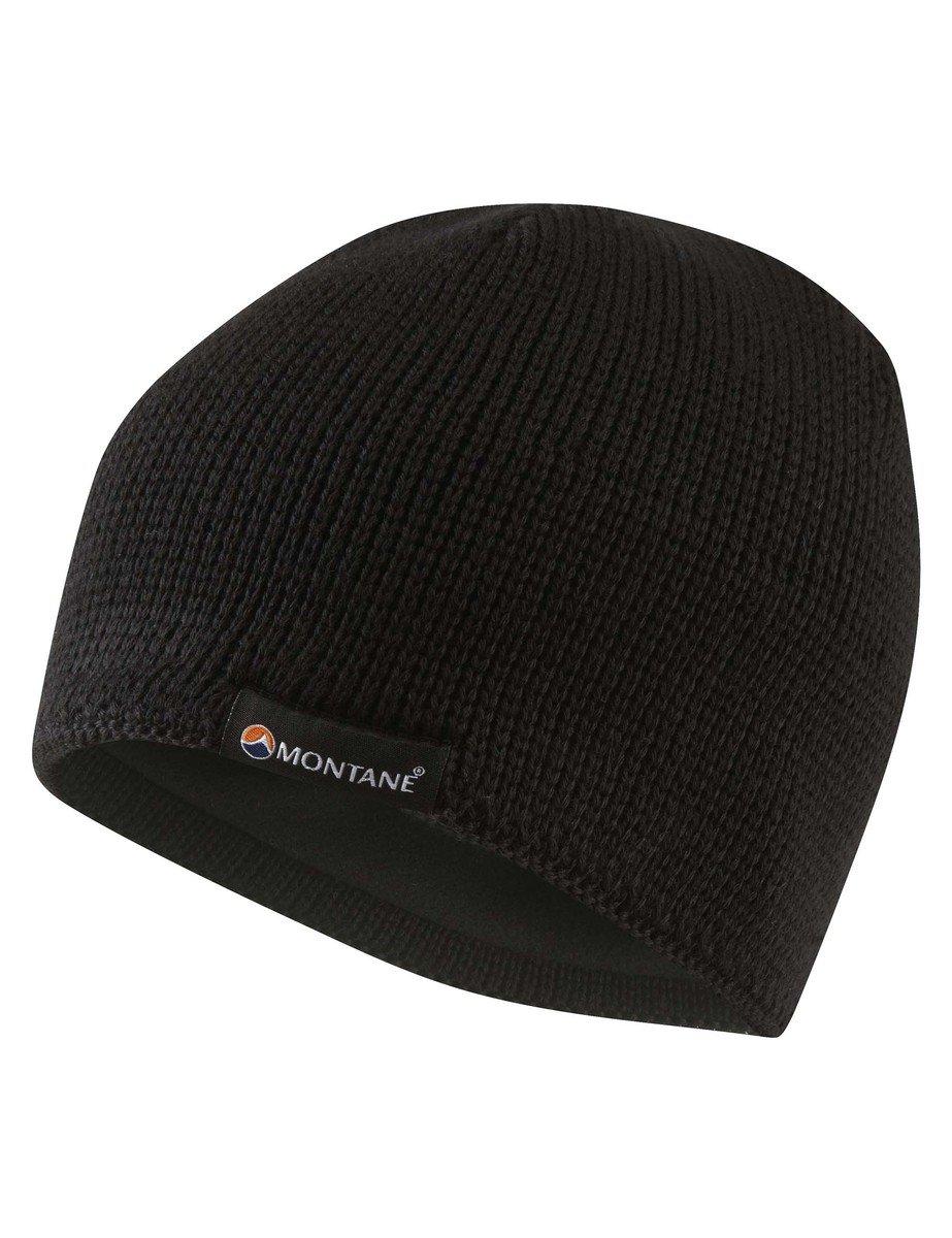 英國保溫帽-黑色 Merino