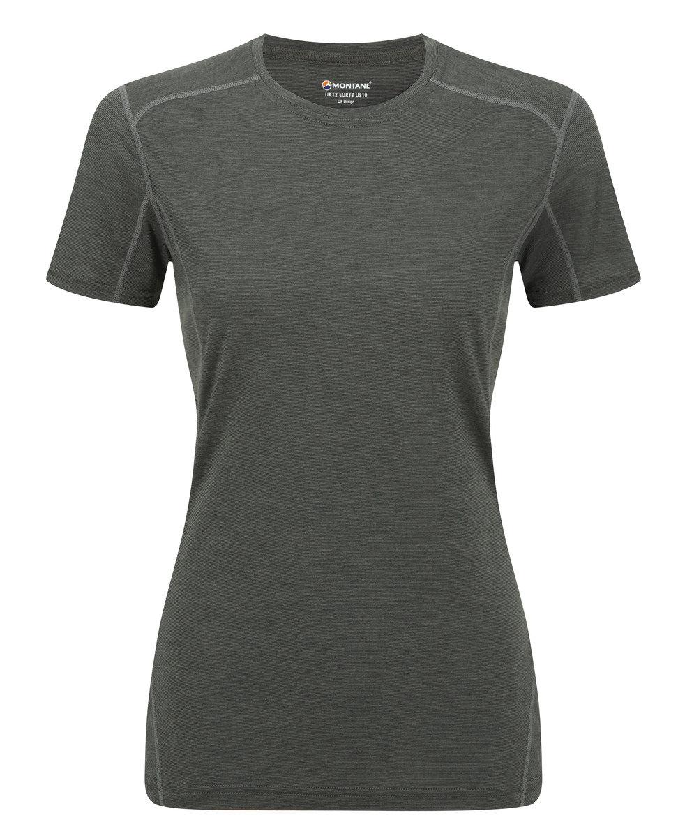 英國女裝 Primino® 短袖保暖內衣 - FEM PRIMINO 140 CREW NECK-JUNIPER GREEN-UK12/US10/EUR38