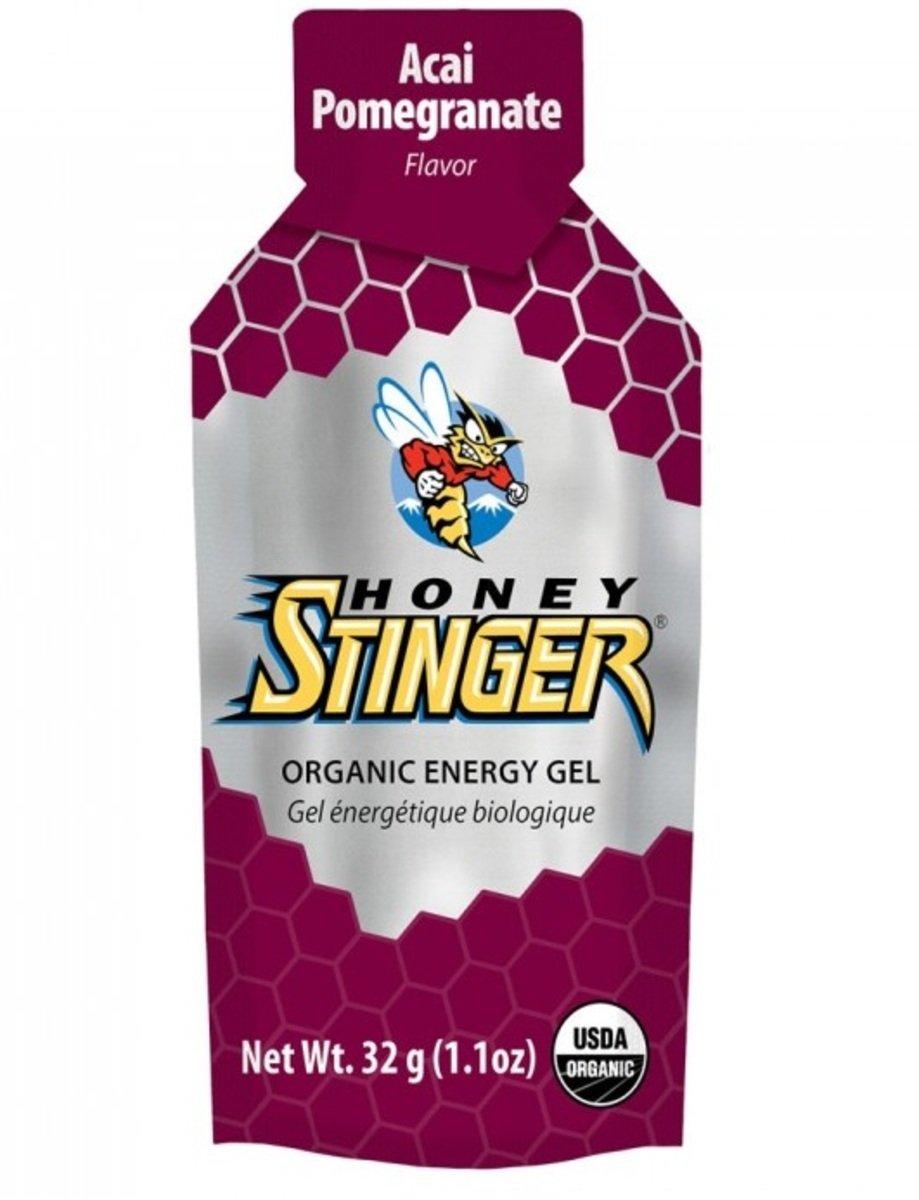 美國蜂蜜能量食品 - Organic Gel 24 Acai & Pom. - 6小包