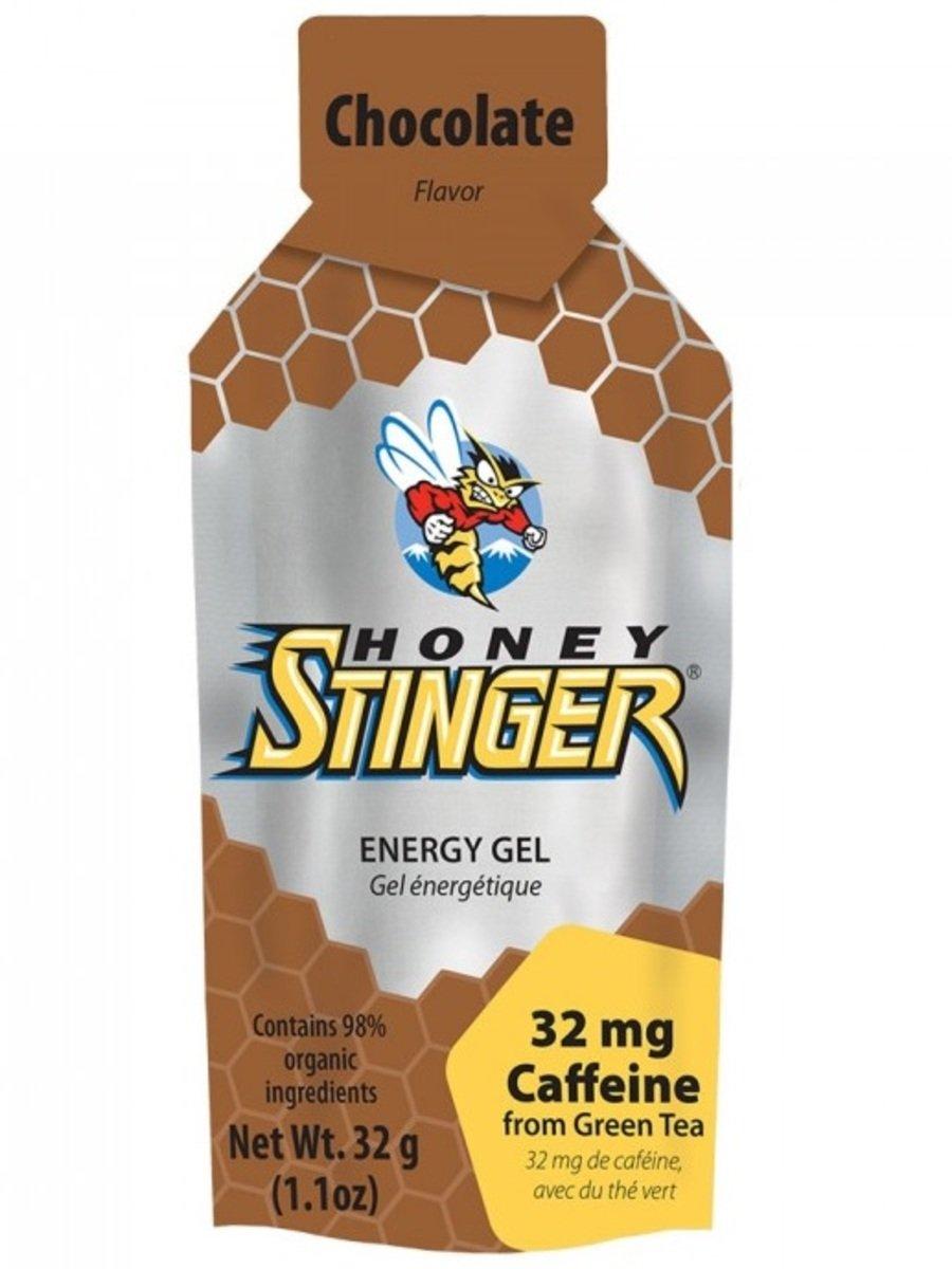 美國蜂蜜能量食品 - Organic Gel 24 Chocolate Caffeinated - 6小包