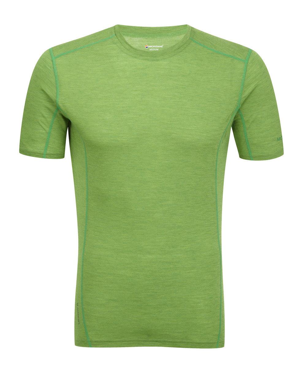 英國男裝 Primino® 短袖保暖內衣 - PRIMINO 140 CREW NECK-AURORA GREEN-M