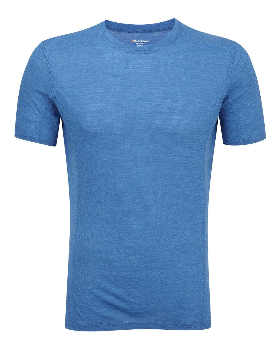 英國男裝 Primino® 短袖保暖內衣 - PRIMINO 140 CREW NECK-ELECTRIC BLUE-L