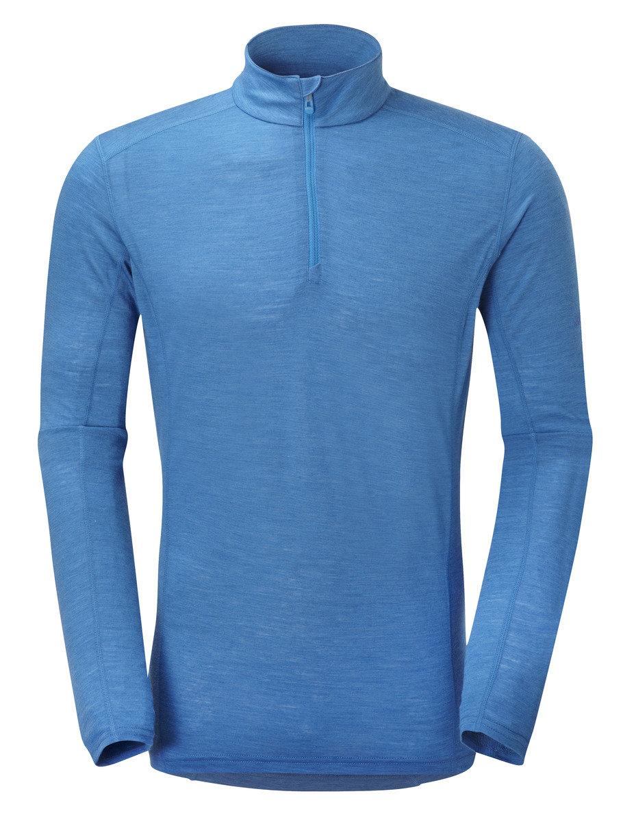 英國男裝 Primino® 長袖保暖內衣 - PRIMINO 140 ZIP NECK-ELECTRIC BLUE-L