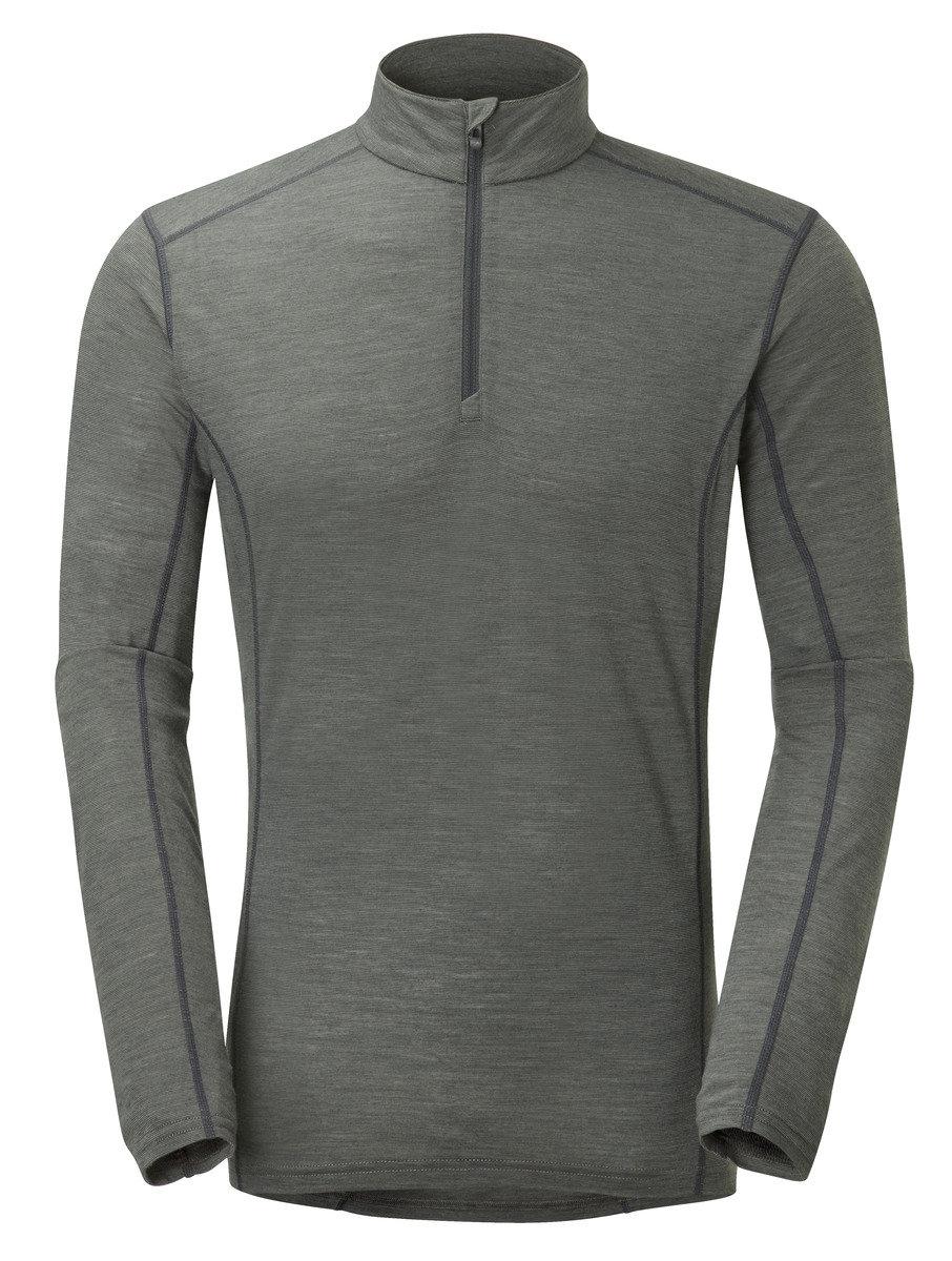 英國男裝 Primino® 長袖保暖內衣 - PRIMINO 140 ZIP NECK-SHADOW-S