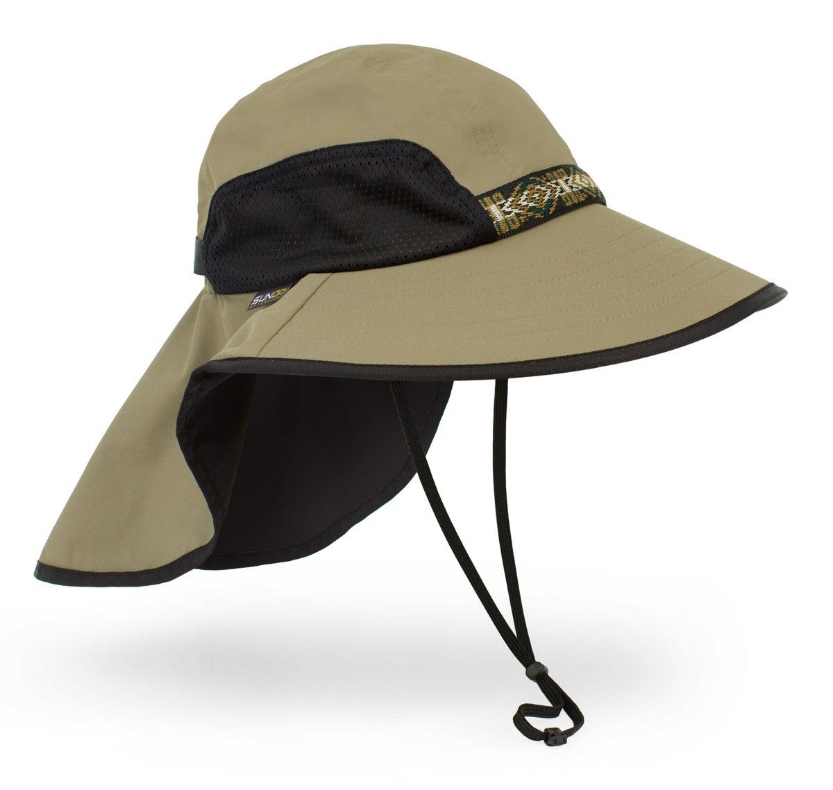 美國永久最高防曬帽 - Adventure Hat, sand, L
