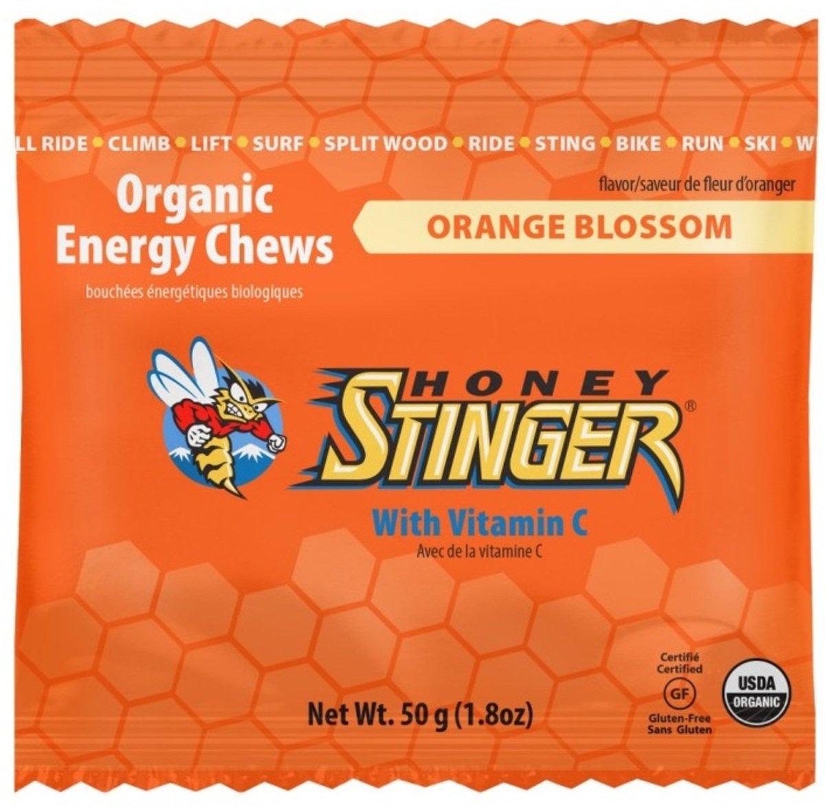 美國蜂蜜能量食品 -  Energy Chews Orange - 1 Box (12pcs)