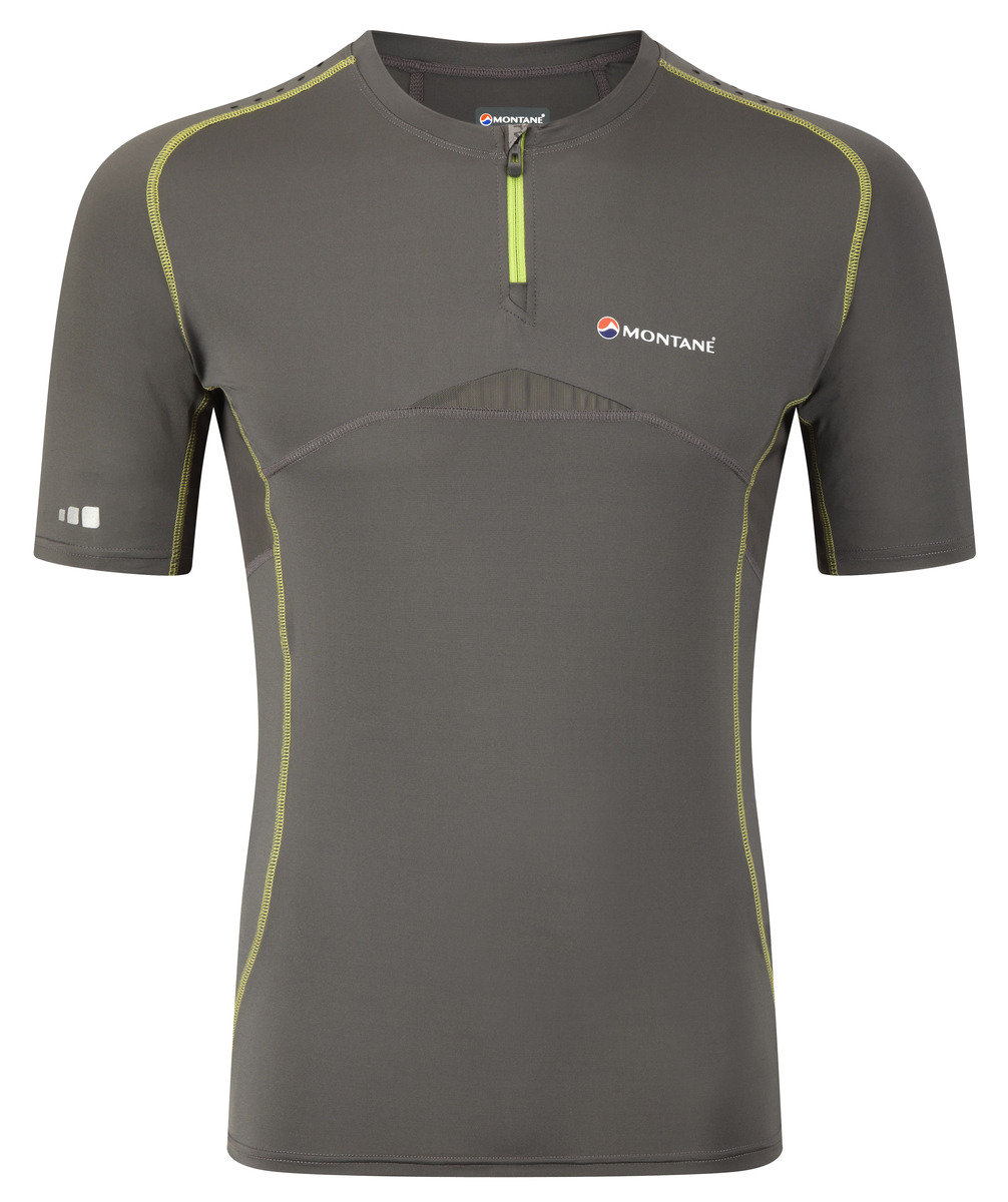 英國吸汗快乾衫 Shark Ultra T-Shirt, Shadow M