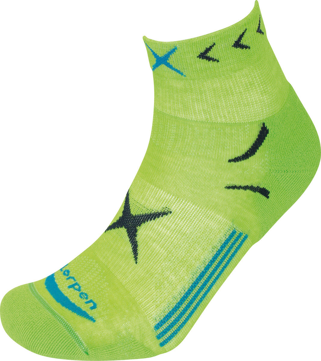 西班牙專業運動襪 T3 Trail Running Light Sock, Bright Green M