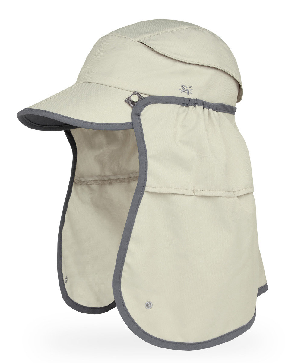 美國永久最高防曬帽 - Sun Guide Cap, Sandstone L